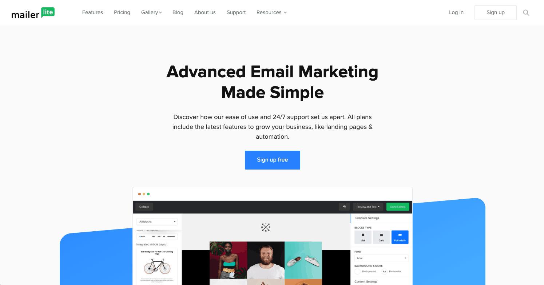 MailerLite : Une solution similaire à MailChimp qui pourrait vous faire changer d'avis!