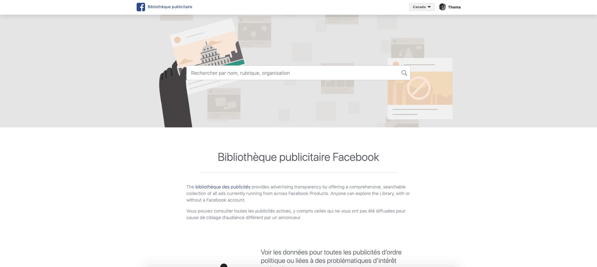Comment trouver les publicités de n'importe quelle page Facebook, même les petites